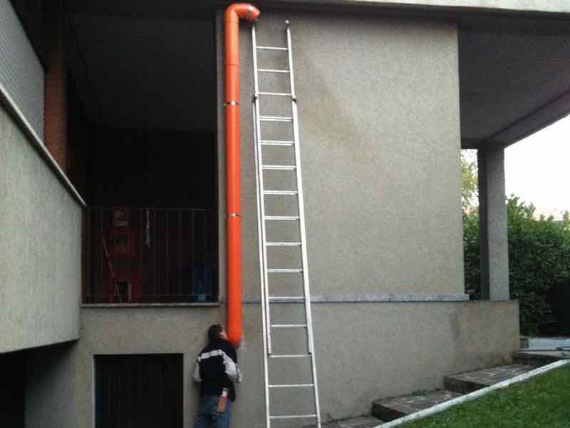 Monza Mitigazione Radon Edificio Scolastico Impianto 2