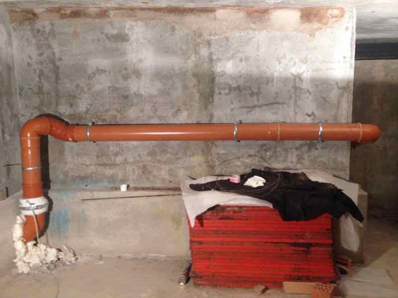 Cavenago Brianza: mitigazione Radon edificio pubblico con seminterrato