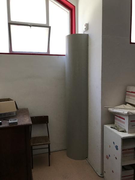 Legnano, Milano: rivestimento linea depressurizzazione per mitigazione gas Radon