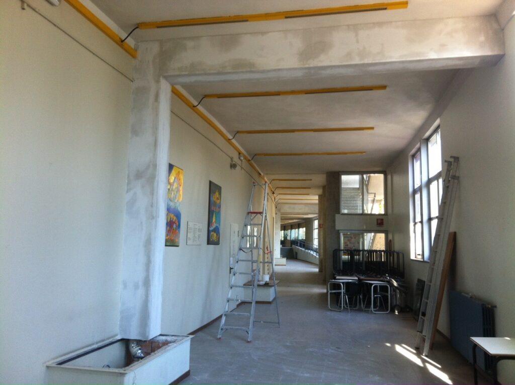 Bergamo Mitigazione Edificio Scolastico - Pozzetto Depressione Interno