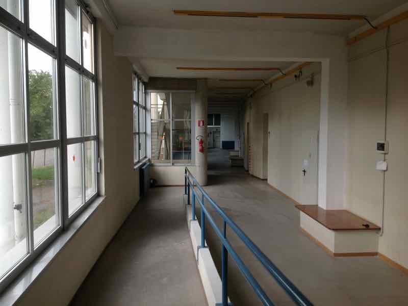 Bergamo Mitigazione Edificio Scolastico Pozzetto Depressione Interno Copertura