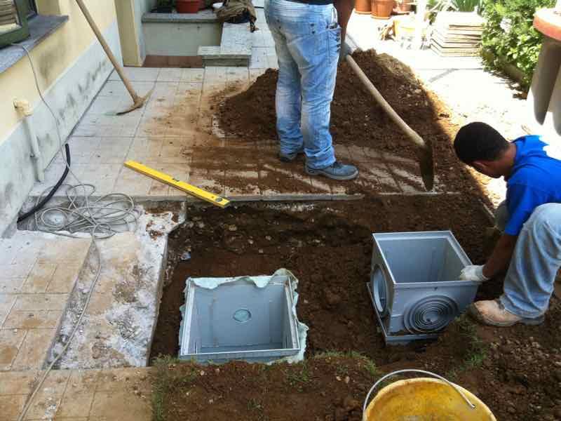 Marcallo Con Casone Mitigazione Radon Villetta - Avvio lavori