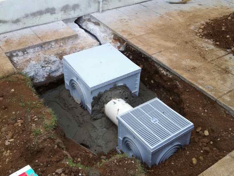 Marcallo Con Casone Mitigazione Radon Villetta - Lavoro in corso