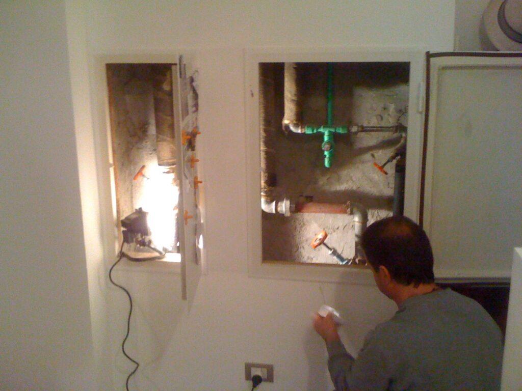 Sigillatura per bloccare la risalita del Radon dal vespaio